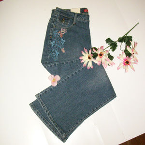 Cosmopolitan 6P Embroidered Flared Jeans NWT